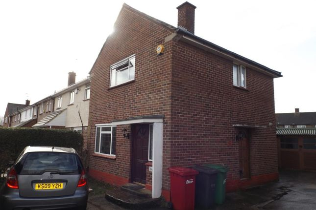Thumbnail End terrace house to rent in Knolton Way, Wexham