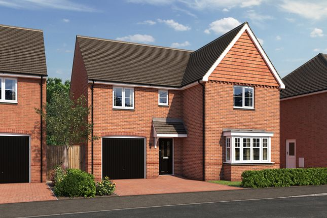 "Thumbnail Detached house for sale in ""The Grainger"" at Moormead Road, Wroughton, Swindon"