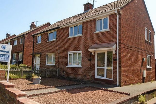 Thumbnail Semi-detached house for sale in Woodhill Drive, Morpeth