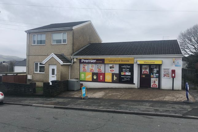 Thumbnail Retail premises for sale in Heol Esgyn, Neath