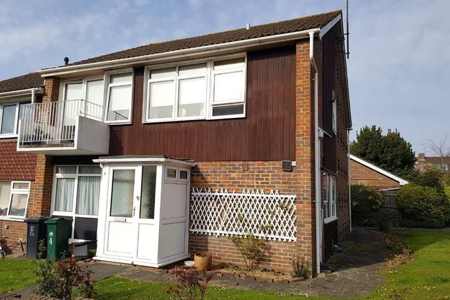 Thumbnail Flat to rent in Caisters Close, Hove, East Suusex