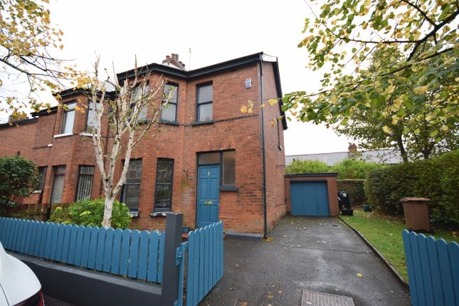 Thumbnail Semi-detached house to rent in Deramore Avenue, Belfast