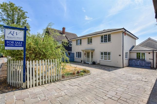 Thumbnail Detached house for sale in Rectory Road, Copford, Colchester, Essex