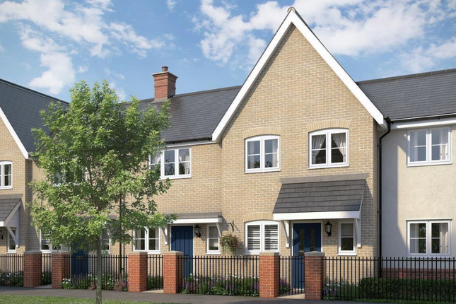 Thumbnail Terraced house for sale in The Stonechat At Chesterwell, Nayland Road, Mile End, Colchester, Essex