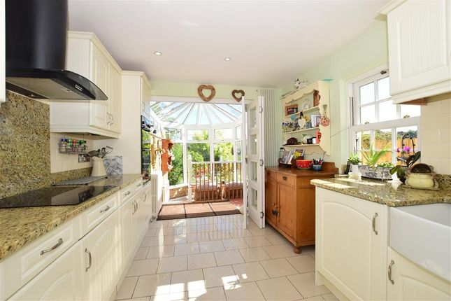 Thumbnail End terrace house for sale in Swanley Village Road, Swanley Village, Kent