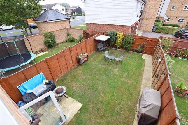 Rear Garden of Markhams Close, Basildon, Essex SS15