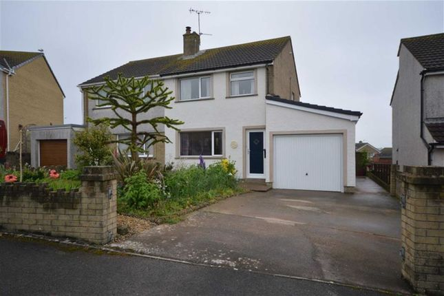 Thumbnail Semi-detached house for sale in Buttermere Drive, Millom, Cumbria
