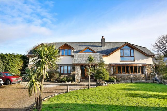 Thumbnail Detached house for sale in Tresowes, Ashton, Helston, Cornwall