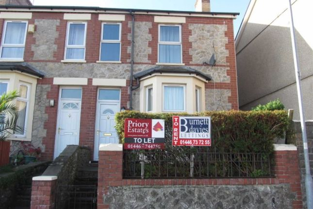Thumbnail End terrace house to rent in Courtenay Road, Barry, Vale Of Glamorgan