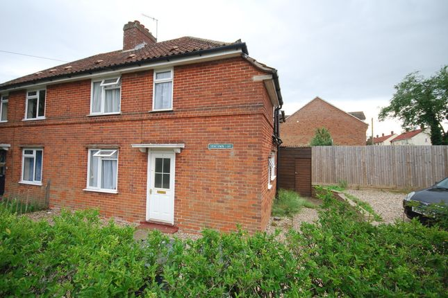Thumbnail Semi-detached house to rent in Newtown, Thetford