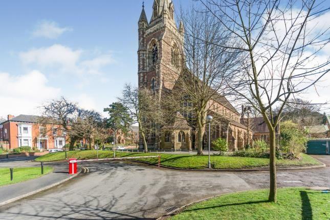 Carpark of St. Annes Court, Park Hill, Moseley, Birmingham B13