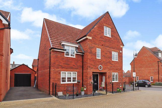 Thumbnail Detached house for sale in Savernake Way, Fair Oak, Eastleigh
