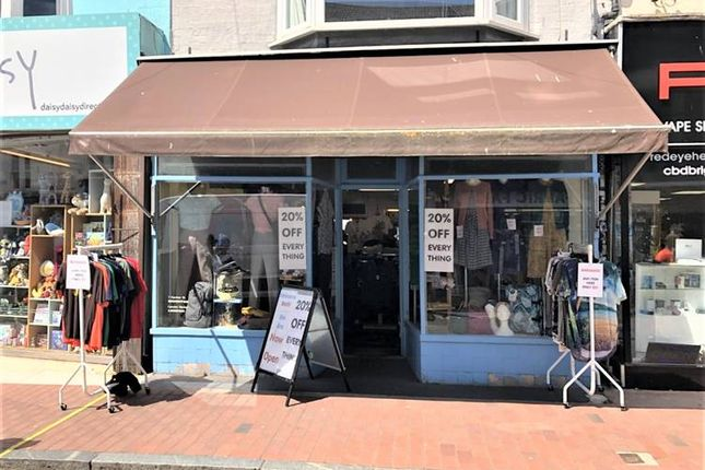 Thumbnail Retail premises to let in Gardner Street, Brighton