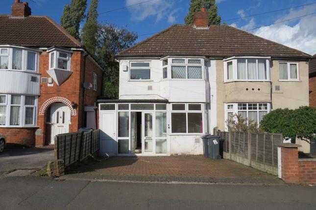 Semi-detached house for sale in Calshot Road, Great Barr, Birmingham