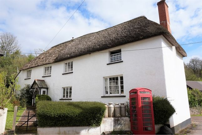Thumbnail Detached house for sale in Coleford, Crediton