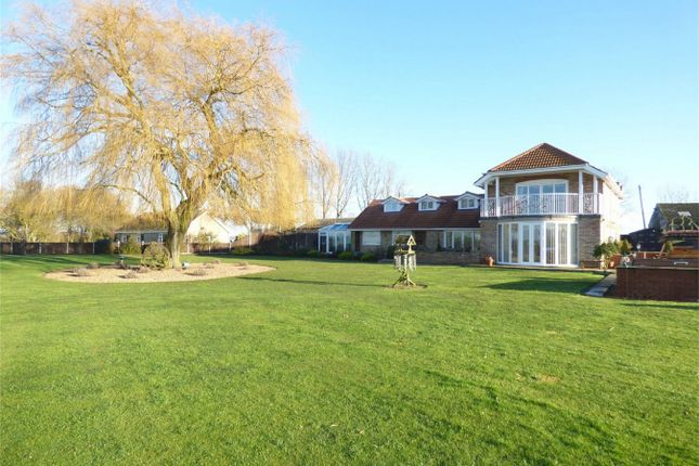 Thumbnail Detached house for sale in Duncombes Road, Coates, Whittlesey