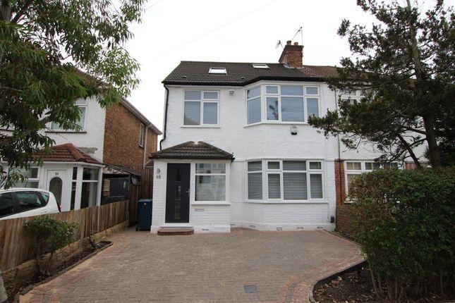 Thumbnail Semi-detached house to rent in Manor Road, Harrow-On-The-Hill, Harrow