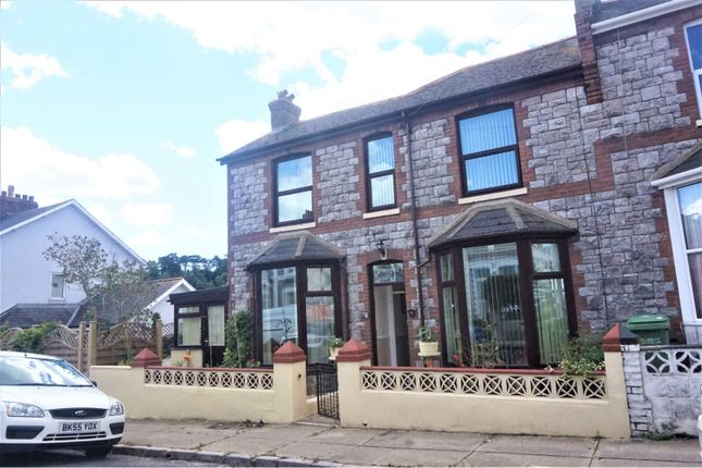 4 bed end terrace house for sale in Carlton Road, Torquay TQ1