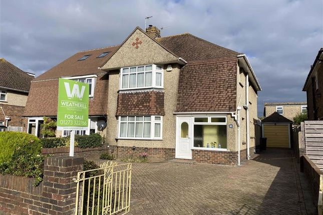 Thumbnail Semi-detached house for sale in Kingston Broadway, Shoreham-By-Sea, West Sussex