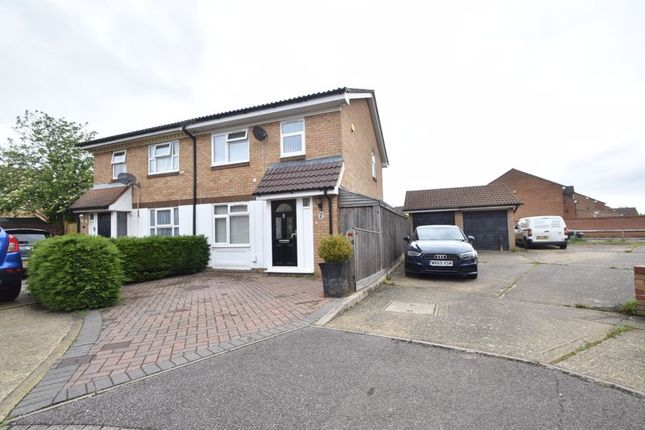 3 bed semi-detached house for sale in Berrow Close, Luton LU2
