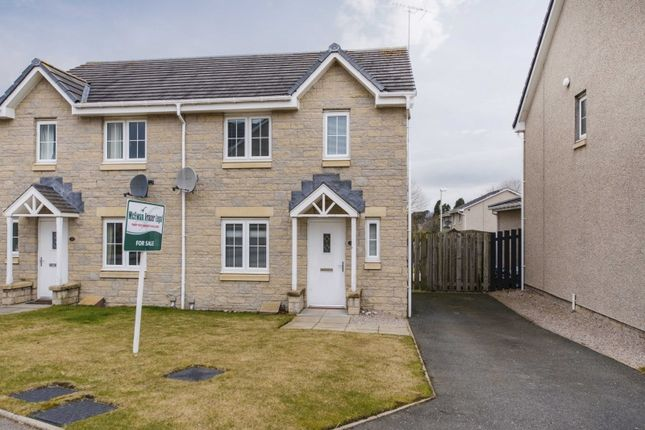 Thumbnail Semi-detached house for sale in Bogbeth Brae, Kemnay, Inverurie, Aberdeenshire
