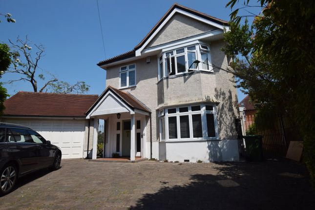 Thumbnail Detached house to rent in Motcombe Road, Branksome Park, Poole