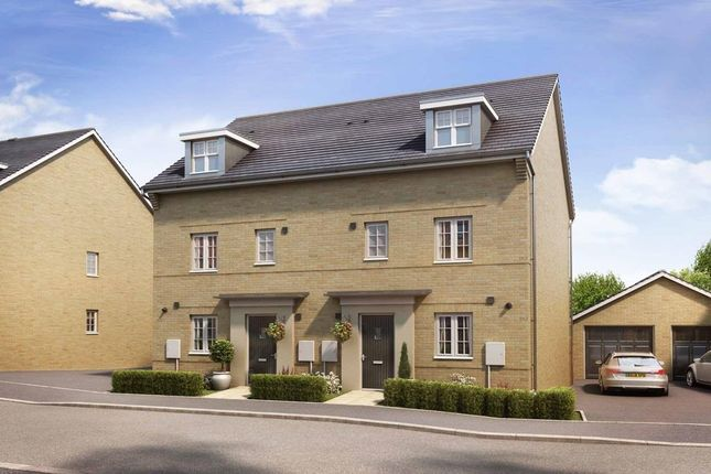 "Thumbnail Semi-detached house for sale in ""Woodcote"" at Marsh Lane, Harlow"