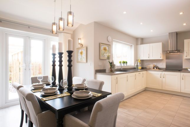 """Thumbnail Detached house for sale in """"The Hemsley"""" at Oakley Wood Road, Bishops Tachbrook, Leamington Spa"""