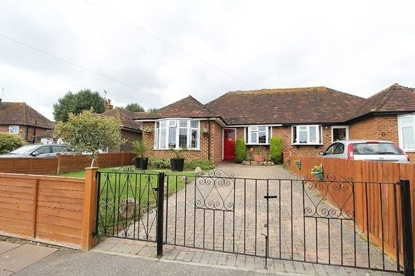 Thumbnail Semi-detached bungalow for sale in Bancroft Road, Bexhill-On-Sea