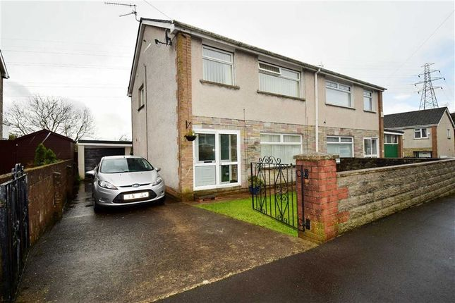 Thumbnail Semi-detached house for sale in Dynea Close, Rhydyfelin, Pontypridd