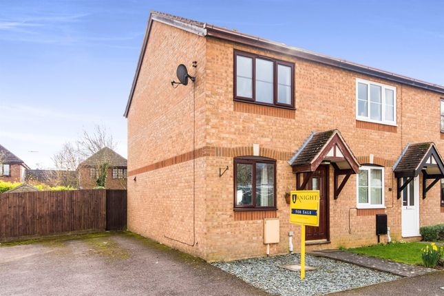 Thumbnail Semi-detached house for sale in Byron Way, Stamford