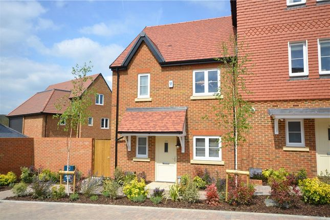 Thumbnail End terrace house for sale in Woodhurst Park, Warfield, Berkshire