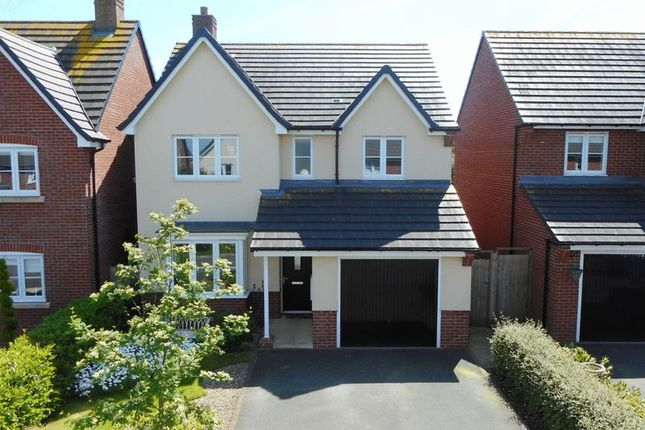 Thumbnail Detached house for sale in Beech Avenue, Woore, Crewe