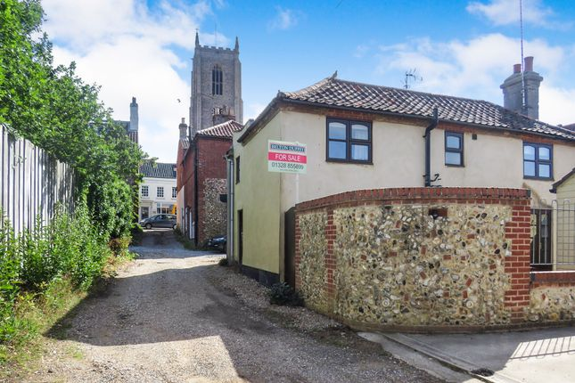 Thumbnail Semi-detached house for sale in Oak Street, Fakenham