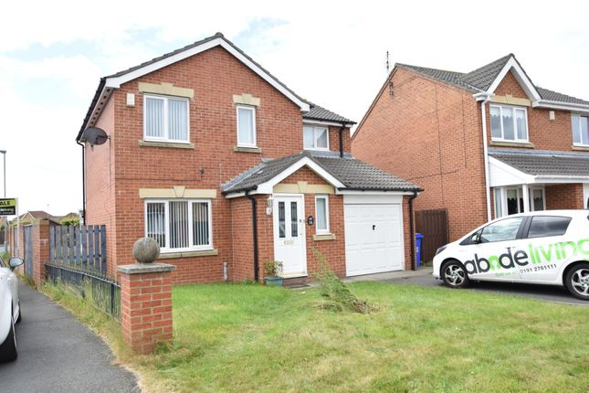 Thumbnail Detached house for sale in Sweetbriar Way, Blyth, Northumberland