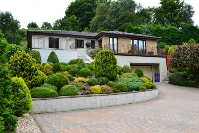 Thumbnail Bungalow for sale in 10 St Leonards Drive, Forres