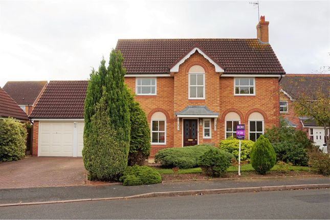 Thumbnail Detached house for sale in Blair Close, Berkeley Beverborne, Worcester