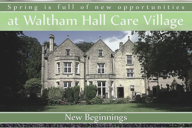 Thumbnail Flat to rent in Lakeview Court, Waltham Hall, Melton Road, Waltham On The Wolds