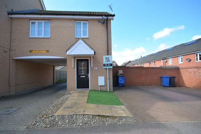 Thumbnail Maisonette for sale in Buttermere Way, Carlton Colville, Lowestoft