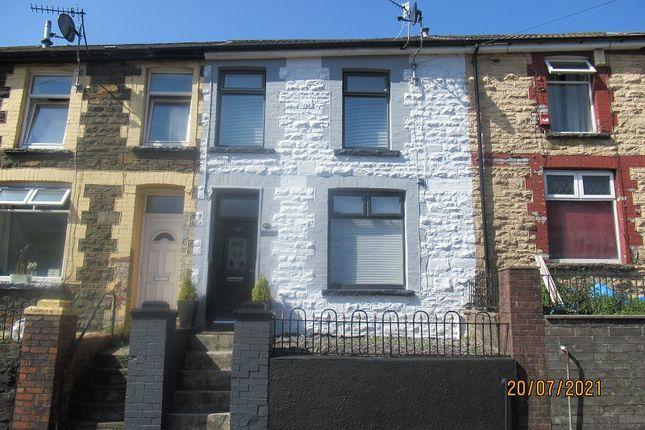 Thumbnail Terraced house for sale in North Road, Ferndale, Rhondda Cynon Taff.
