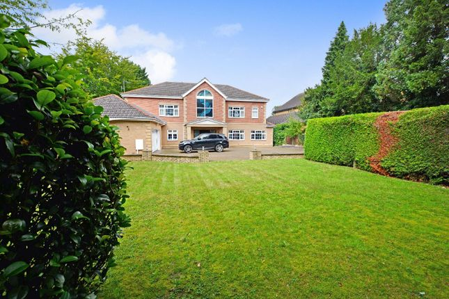 Thumbnail Detached house to rent in Manor Road, Oadby, Leicester