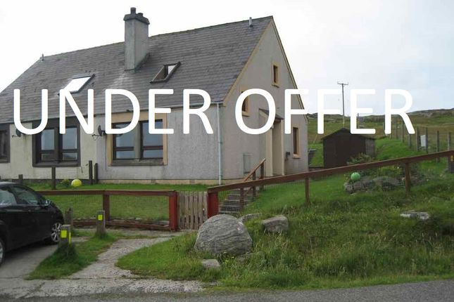 Thumbnail Semi-detached house for sale in Vatersay, Isle Of Barra