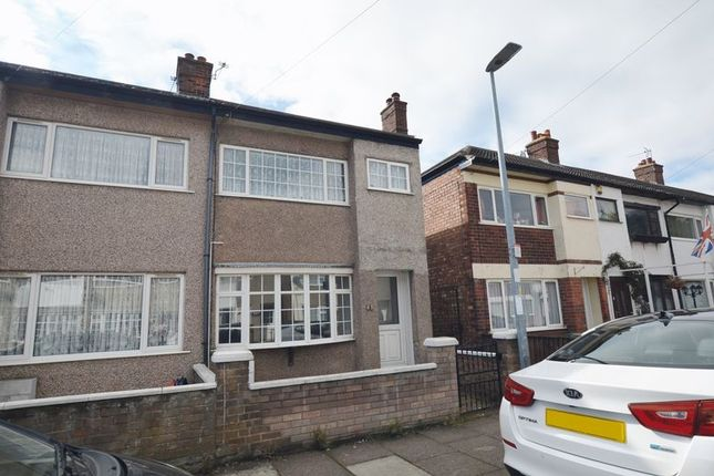 Thumbnail End terrace house to rent in Lister Street, Grimsby