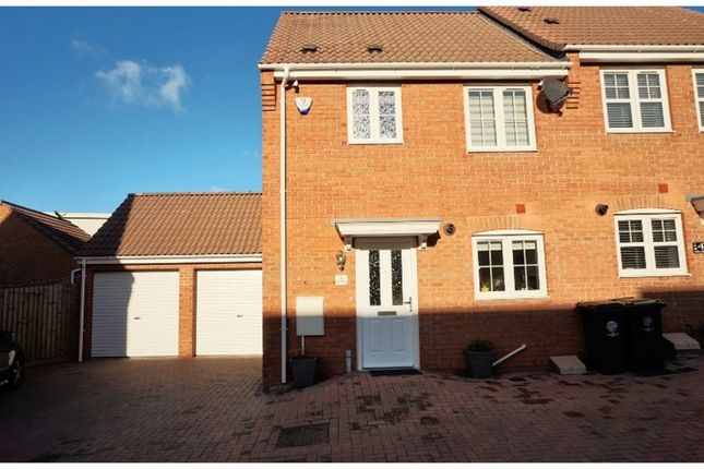 Thumbnail Semi-detached house for sale in Belfry Mews, Rushden