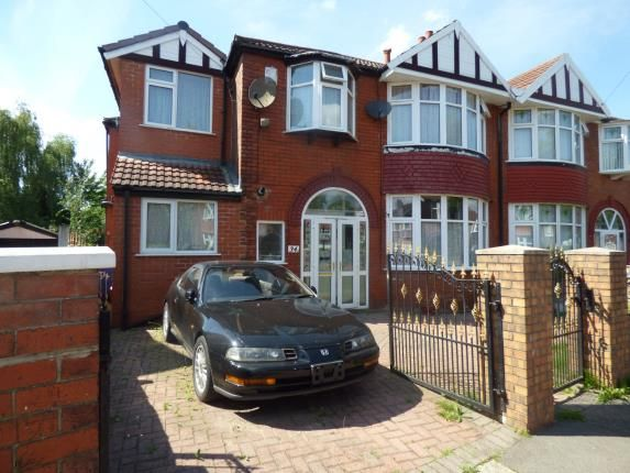 Thumbnail Semi-detached house for sale in Northleigh Road, Manchester, Greater Manchester