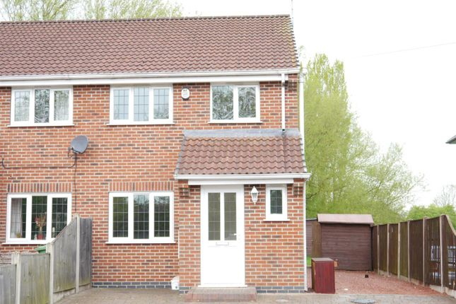 Thumbnail Semi-detached house for sale in Milnhay Road, Langley Mill, Nottingham