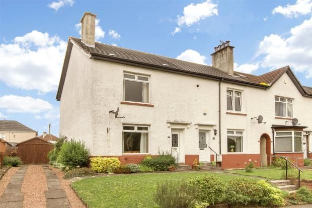 Thumbnail End terrace house for sale in Clarion Road, Knightswood, Glasgow
