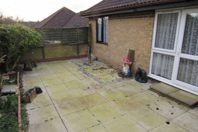 Rear Garden of Witham Court, Bletchley, Milton Keynes MK3