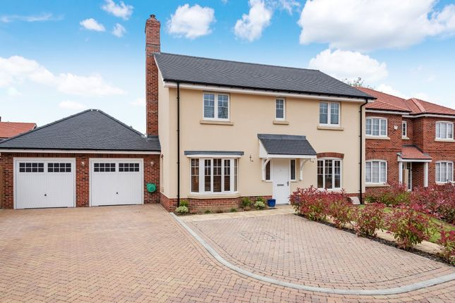 Thumbnail Detached house for sale in The Pippins, Swallowfield, Reading