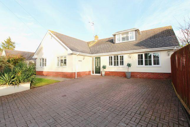 Thumbnail Detached bungalow for sale in Tram Lane, Caerleon, Newport